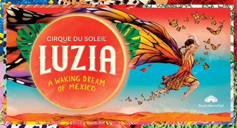 Luzia, Cirque Du Soleil,. Royal Albert Hall